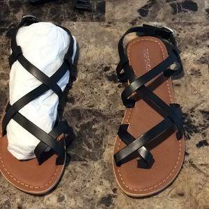Top shop straps sandal